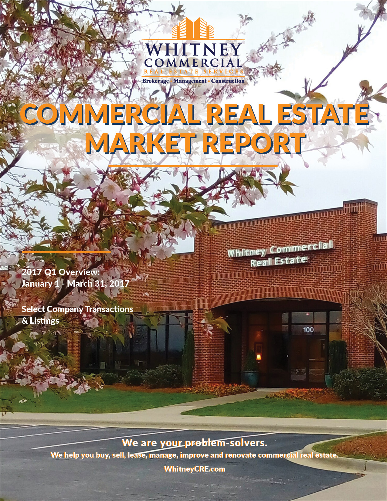 Asheville Commercial Real Estate Market Summary Report - Q1 2017 Thumbnail
